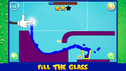 Water Draw: Unique Physics Puzzle screenshot 7