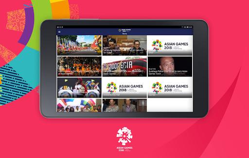 18th Asian Games 2018 Official App 1.0.2 screenshots 9