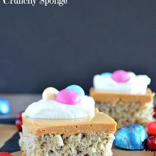 Dulce de Leche Mousse with Crunchy Sponge #SweeterPascua #ad #CollectiveBias