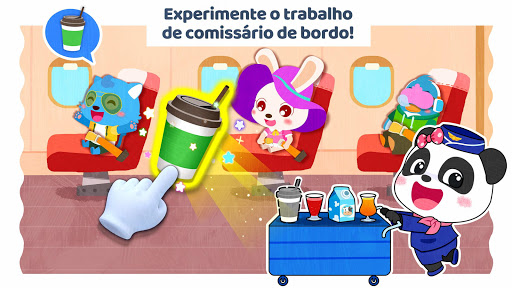 Cidade do Bebê Panda: Meu sonho screenshot 2