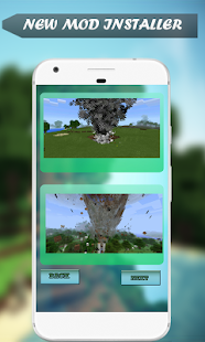 Mod Tornado for MCPE - náhled