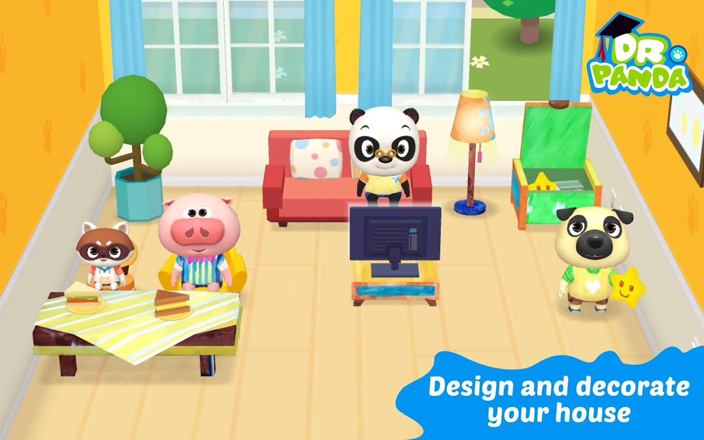 Dr. Panda Plus: Home Designer- screenshot