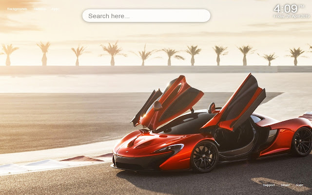 McLaren Sports Cars HD Wallpapers New Tab