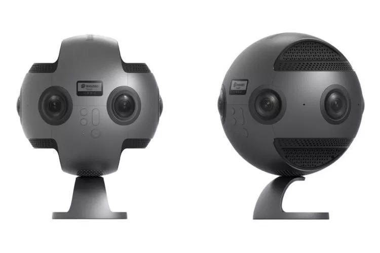 Hai góc của chiếc máy ảnh Insta360 Pro