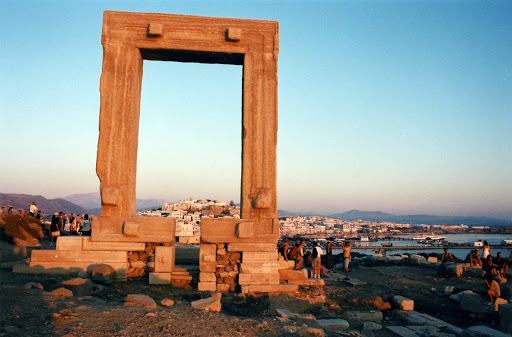 temple-of-apollo.jpg - The Portara, or Temple of Apollo, built in 530 A.D. by the emperor Lygdamis (well, his slaves) on the island of Naxos, Greece.