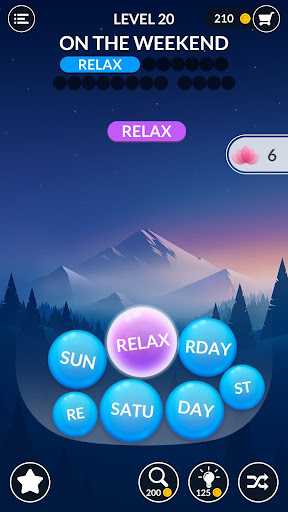 Word Serenity - Calm & Relaxing Brain Puzzle Games apkmr screenshots 1