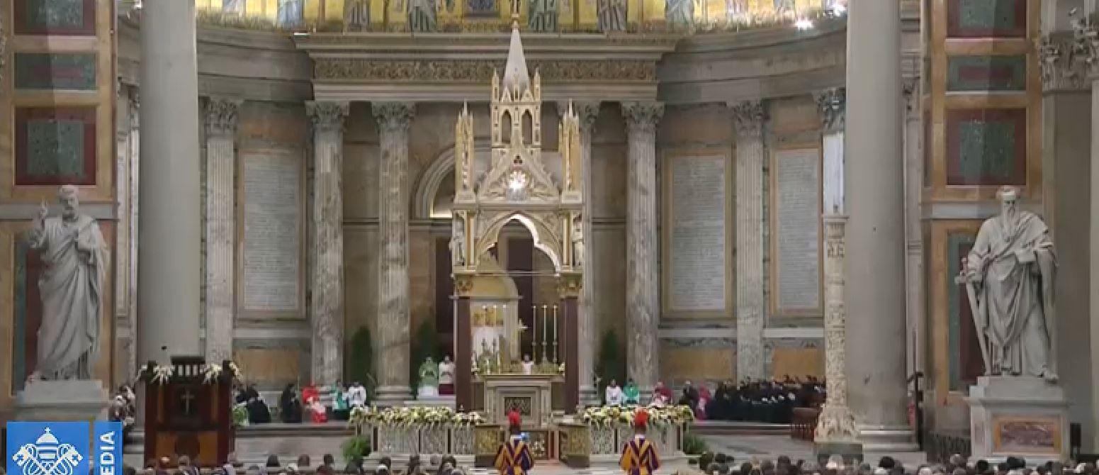 Đức Thánh Cha chủ tế giờ Kinh Chiều bắt đầu Tuần lễ cầu cho sự Hiệp nhất Ki-tô hữu lần thứ 52