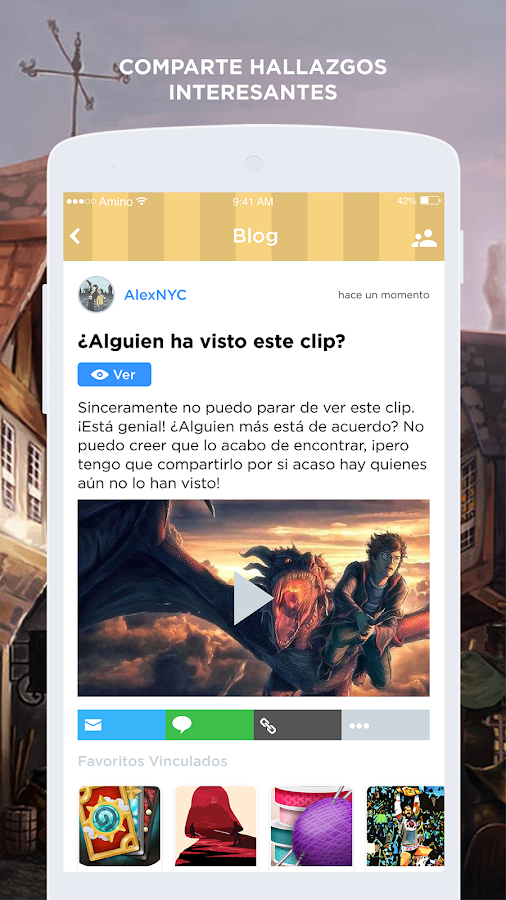 9 3/4 Amino para Harry Potter en Español- screenshot
