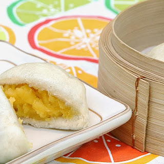 Steamed Custard Buns (Nai Huang Bao)