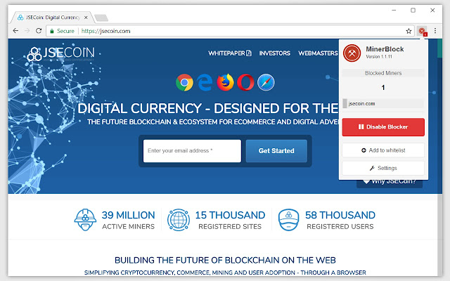 cryptocurrency mining browser