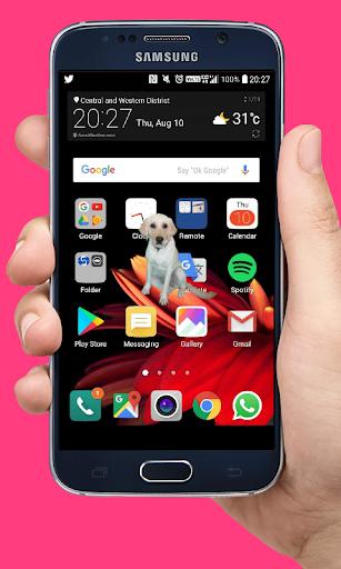 2020 Woof Dog Walks On Screen Cute Joke Android App Download Latest