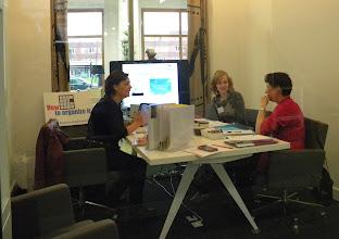 Photo: Workshop 'How to organize it' o.l.v. Nathalie Strik