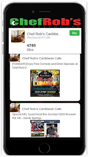 Chef Rob's Caribbean Cafe- screenshot thumbnail
