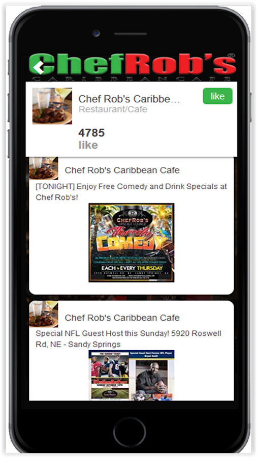 Chef Rob's Caribbean Cafe- screenshot