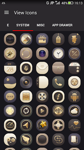 Gold Icons Pro -Cool Icon Pack  screenshots 5