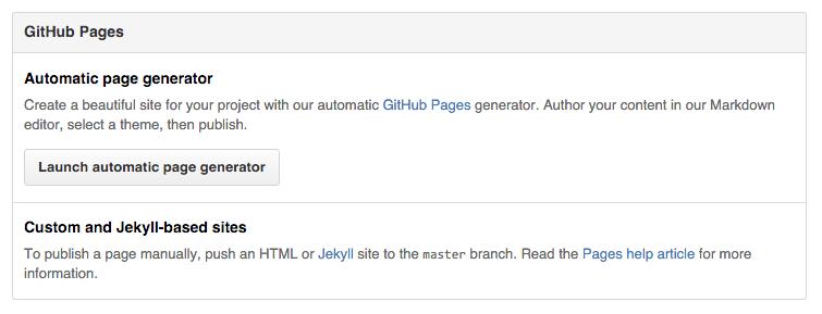 Automatic Page Generaor