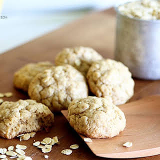 Best Soft And Chewy Oatmeal Cookies.