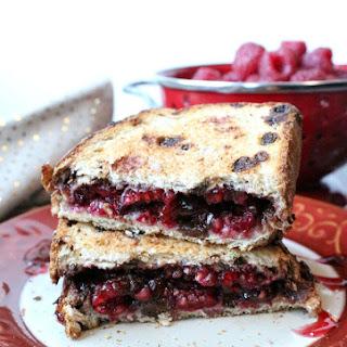 Chocolate Raspberry Panini