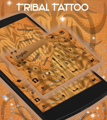 無料个人化Appの部族の入れ墨のキーボード|記事Game
