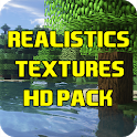 Realistic Texture Pack HD for Minecraft PE icon