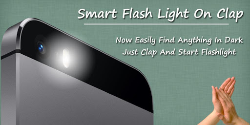 Smart Flash Light On Clap