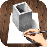 3D Drawings Icon