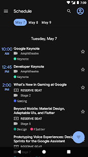 Google I/O 2019 Screenshot