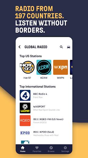 TuneIn Radio: Live News, Sports & Music Stations screenshot 4