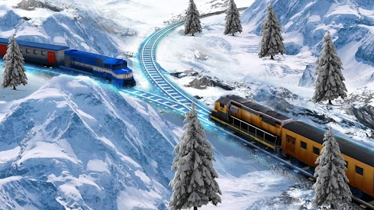 Train Racing Games 3D 2 Player 6