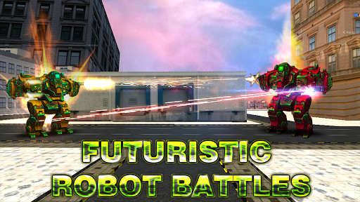 Code Triche Robot World At War - Robo Battle Ground  APK MOD (Astuce) screenshots 1