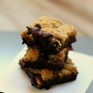 Gluten Free Chocolate Chip Cookie Brownies.