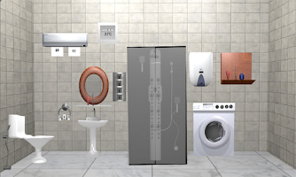 3d escape games bathroom android app on appbrain for 3d bathroom design app