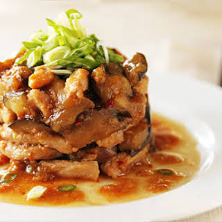 Chinese Pork and Eggplant Chow.