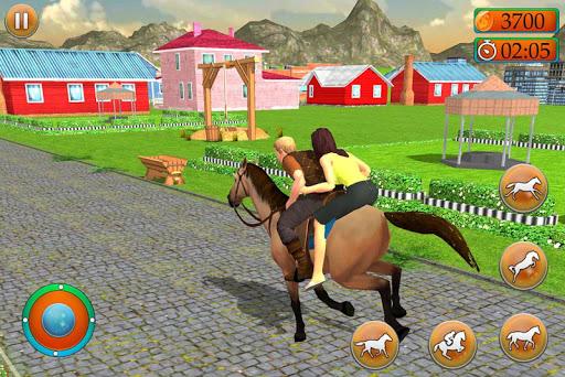 Offroad Horse Taxi Driver u2013 Passenger Transport 2.0.147 screenshots 1