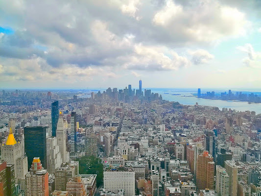 Lower Manhattan (i colori di NewYork) di FlyBoy