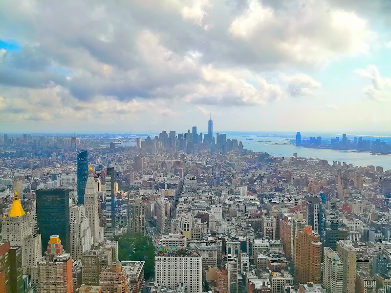 Lower Manhattan (i colori di NewYork) di FlyBoy