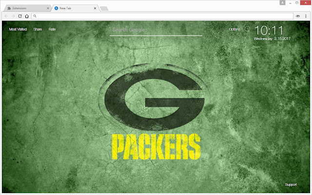 nfl green bay packers wallpapers hd new tab