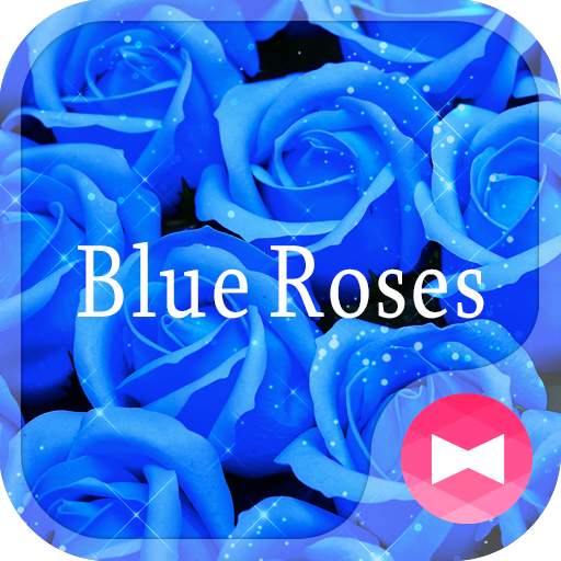 Cool Wallpaper Blue Roses Icon
