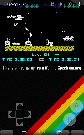 Speccy - Complete Sinclair ZX Spectrum Emulator screenshots 14