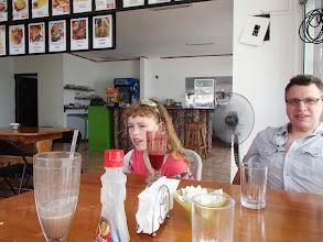 Photo: At Mangko, where we had breakfast every morning in Puerto Jimenez