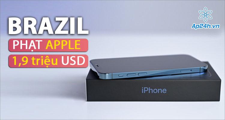 Apple bị phạt 1,9 triệu USD do có cáo buộc lừa dối người dùng