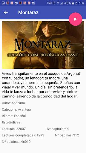 Biblioteca Libro Juegos de rol interactivos screenshot 2