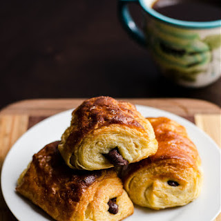Whole Wheat Chocolate Croissants