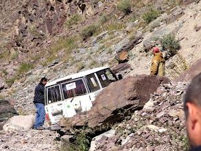 Photo: Безнадежный тупик. Будем разворачиваться и искать другой вариант в этой долине горного ручья.
