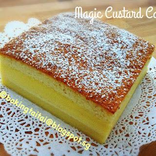 Magic Custard Cake.