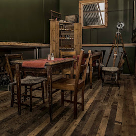 Dinning in the Attic by Susan Pretorius - Artistic Objects Furniture
