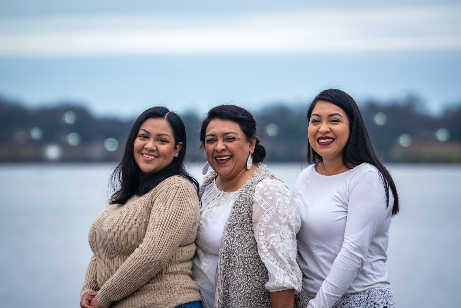 portrait photography three women