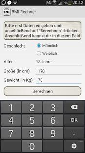 Bmi Berechnen Jugendliche : bmi rechner kinder und erwachsene android apps on google play ~ Themetempest.com Abrechnung