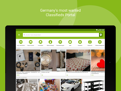 ebay kleinanzeigen for germany android apps on google play. Black Bedroom Furniture Sets. Home Design Ideas