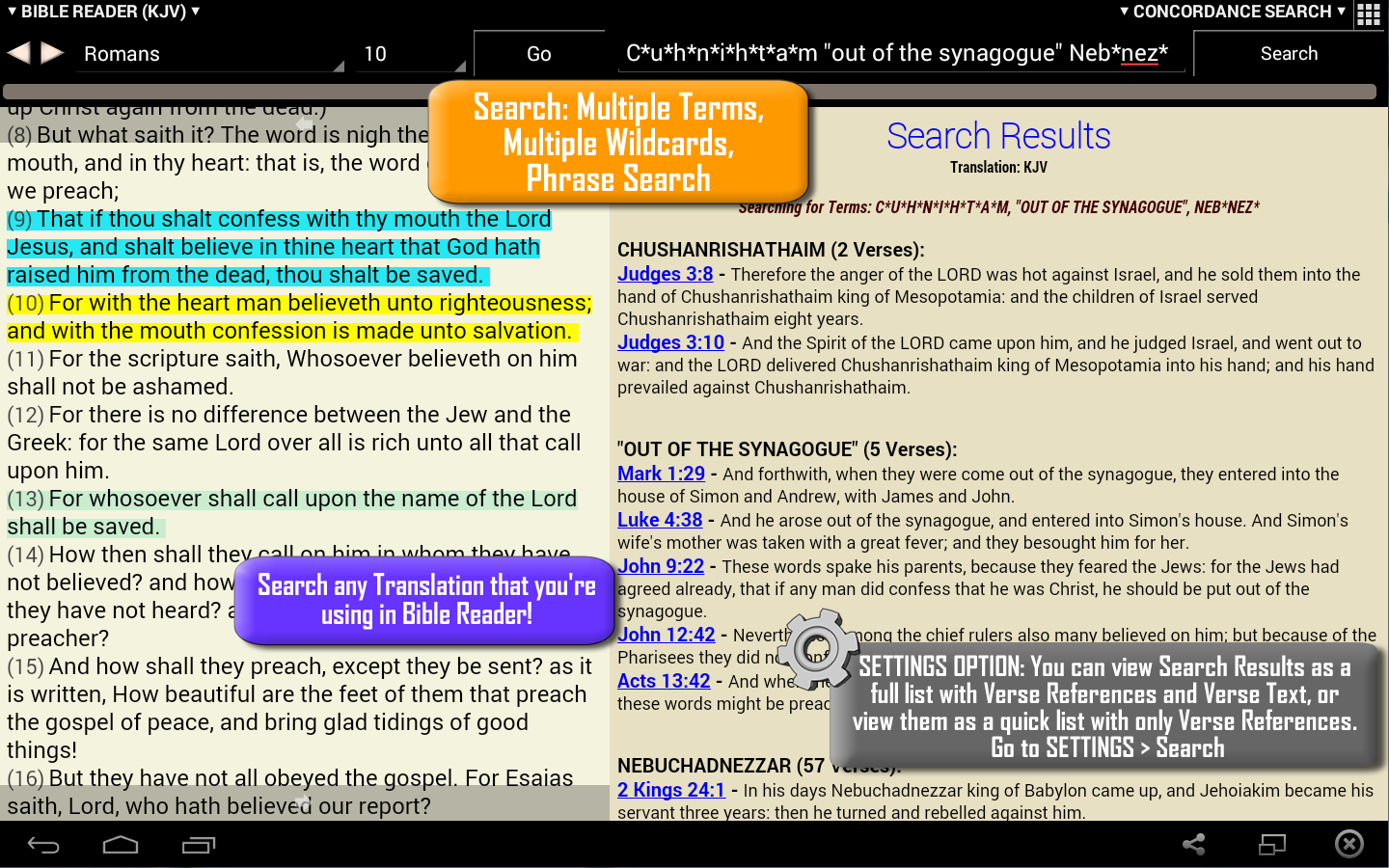 TurboBible (Turbo Bible)- screenshot